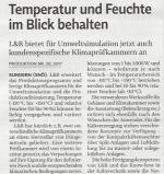 Produktion 17.05.17 Klimaprüfkammer