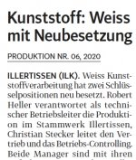 Produktion Nr. 6 Weiss